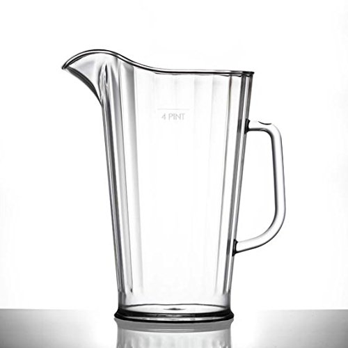 Kunststoff Krug 4Pint | Classic Große Kunststoff Krug | Pimms Krug | nahezu unzerbrechlich-Qualität Catering Produkte von BBP