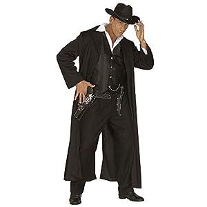 WIDMANN Desconocido Disfraz de asesino a sueldo del Oeste para hombre
