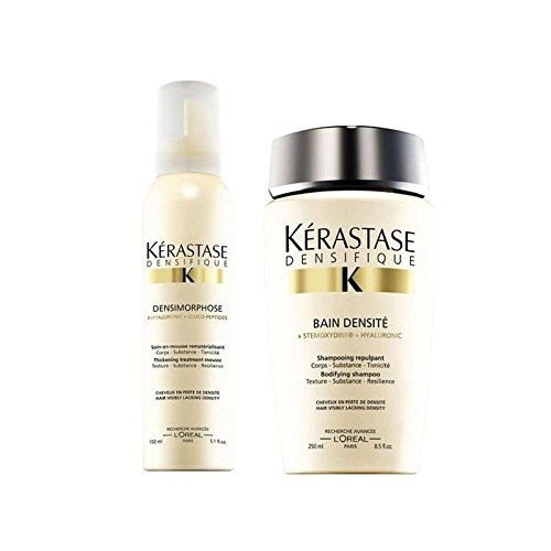 KÉRASTASE Densifique Bain densite (250ml) y Mousse densimorphose (150 ml)