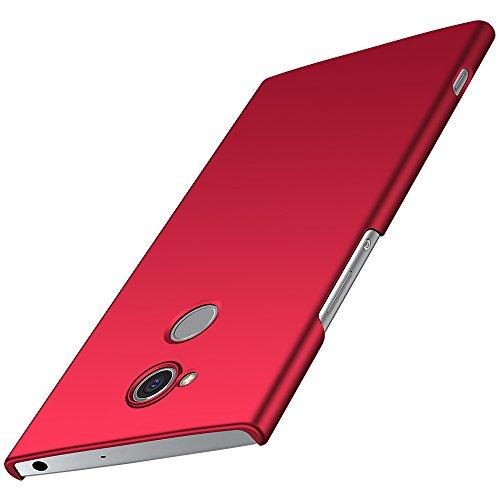 anccer Sony Xperia XA2 Ultra Hülle, [Serie Matte] Elastische Schockabsorption und Ultra Thin Design für Sony Xperia XA2 Ultra (Nicht für Sony Xperia XA2)-Glattes Rot