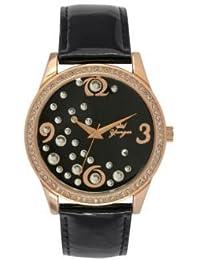 Reloj Yonger pour elle mujer negro–DCR 1604/01