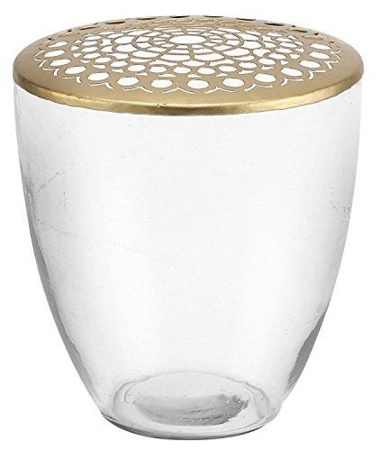 A Simple Mess Vase/Blumenvase - Glas - Kamelia - Höhe 20 cm - Ø16,0 cm