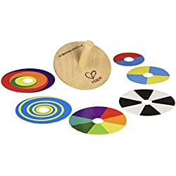 Hape - Peonza de espirales coloridas (0HPE1031)
