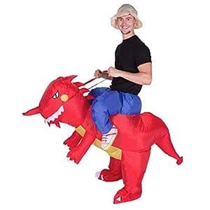 Bodysocks® Aufblasbares Drachen Kostüm für Erwachsene