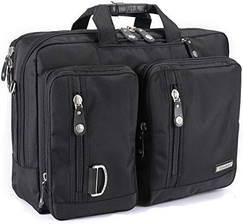 FreeBiz 18-Zoll-Laptop-Tasche Multifunktions -Laptop-Aktenkoffer -Rucksack mit Tragegriff und Schultergurt Passend bis zu 18,4 Zoll Gaming Laptops für Dell, Asus.Msi (18,4 Zoll) -