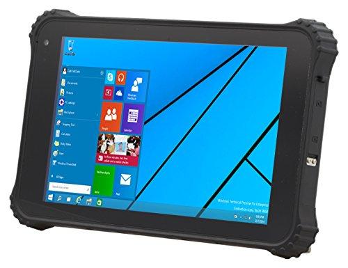 Logic Instrument Fieldbook K80-1 20,32 cm (8,0 Zoll) Tablet-PC (Intel Atom Z3735F, 2GB RAM, 64GB HDD, Win 10 Pro Touchscreen) grau