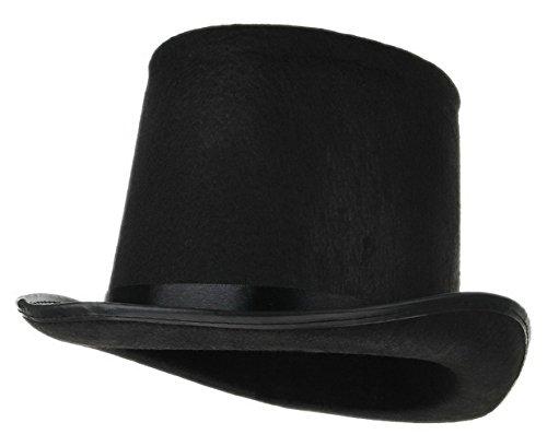 La Vogue Chapeau Deluxe Homme Magic Top Hat Feutre Noble Classique Noir