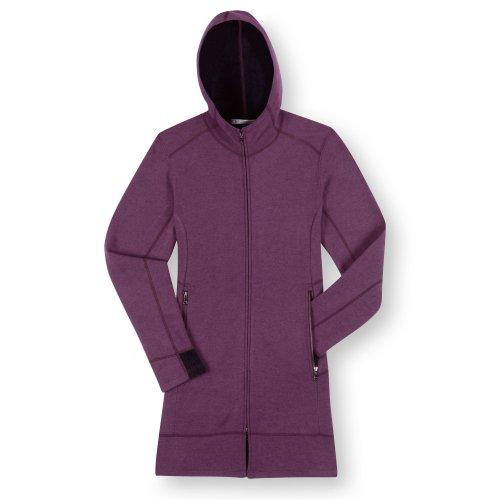 Ibex Outdoor Bekleidung Damen PEZ lang Pullover Concord/Black