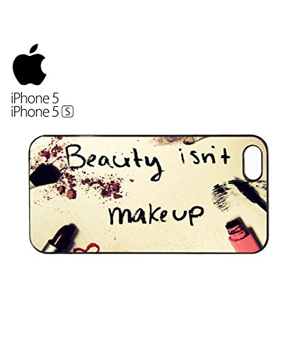 Beauty Isn't Make Up Tumblr Instagram Mobile Phone Case Cover iPhone 5c White Blanc