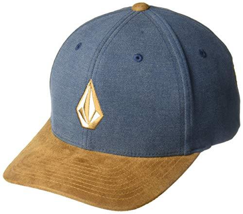 Imagen de volcom men's full stone heather flex fit hat