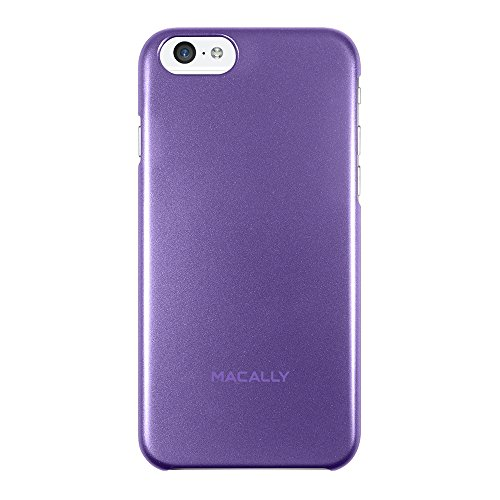 Macally SNAPP6M-PU Metallic-Snap-on Schutzhülle für iPhone 6s und iPhone 6 (4.7