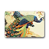 Dalliy Pfau Fu?matten Doormat Outdoor Indoor 23.6