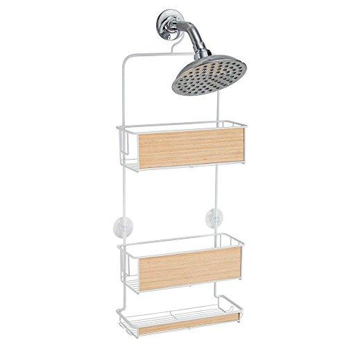 interdesign-realwood-portaoggetti-doccia-per-shampoo-balsamo-sapone-finitura-bianco-legno-chiaro