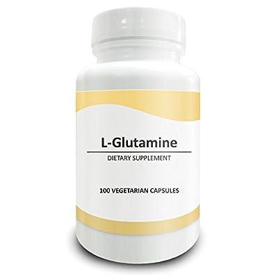 Pure Science L-Glutamine Supplement 1000 milligrams - 100 Tablets