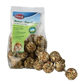 Trixie Pure Nature Snack Balls - Apfel/Dinkel -