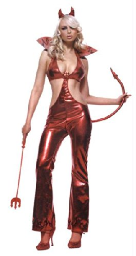 Preisvergleich Produktbild Devil Jumpsuit Side Slit Lg