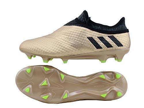 adidas Herren Messi 16+ Pureagility FG Fußballschuhe Gold (Cooper metallic/core Black/Solar Green Coral) 44 EU