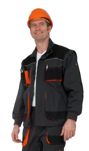 Shield Veste de travail Trend mg, anthracite/noir/orange Anthra/Schwarz/Orange