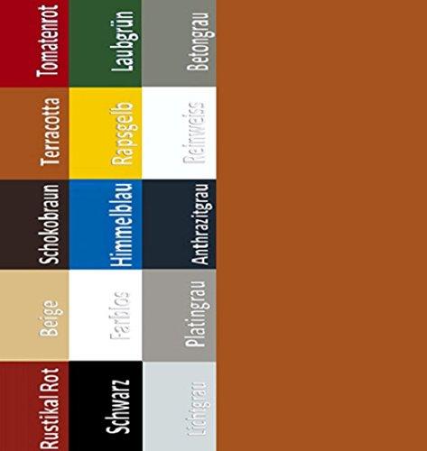 7,98EUR/L Bodenbeschichtung Bodenfarbe Boden Garagenfarbe Garagen Hallenfarbe Hallen Estrich Zement Farbe Terracotta 5L