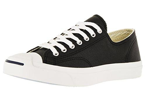Converse Jack Purcell Leather Ox Herren Sneaker Schwarz Black