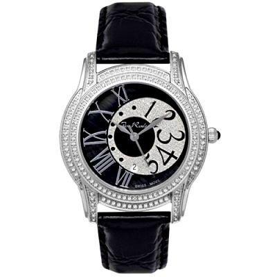 Femme s Joe Rodeo Beverly Diamant Montre 1.35ct Noir