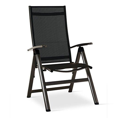 Legno&Design Fauteuil inclinable en Aluminium et textilène