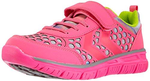 Hummel - Hummel Crosslite Ii Jr Velcro, Scarpe fitness Bambina Rosa (Pink (Knockout Pink 3888))