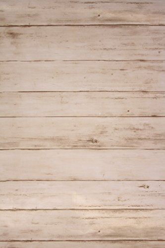 Vintage beige Worn Piastrelle in Legno Carta da parati in vinile Worn Old UK Pellicola in PVC Regno