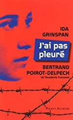 J'ai pas pleuré d'Ida GRINSPAN