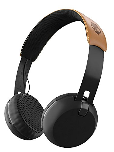 Skullcandy Grind Wireless, On-Ear Kopfhörer, Schwarz