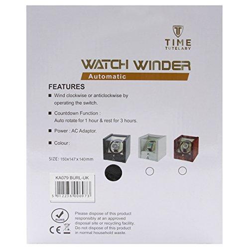 Time Tutelary Automatic Single Watch Winder Black Gloss KA079