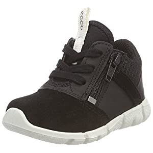 ECCO Baby Boys Intrinsic Mini Low-Top Sneakers, (Black 51052), 5.5 UK