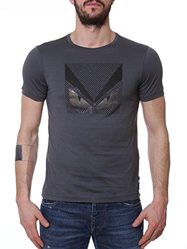 fendi-homme-fy06261z2f0qz0-gris-coton-t-shirt