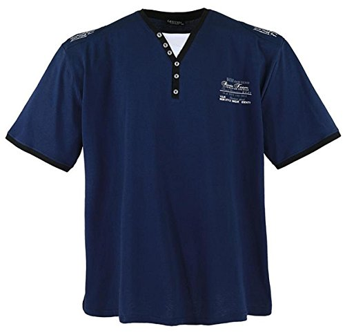 Übergrössen !!! WOW !!! Hippes T-Shirt Kurzarm LAVECCHIA 3 Farben 4693 Weiß