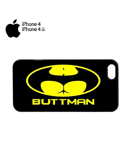Buttman Parody Joke Mobile Cell Phone Case Cover iPhone 5c White Noir