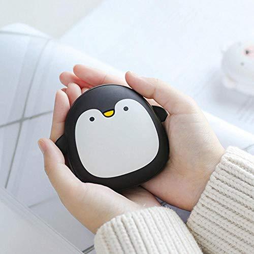 FOONEE Handwärmer wiederaufladbar, Tragbare Handwärmer 3600 mAh Tragbare USB Elektrische Handwärmer/Powerbank tolles Geschenk im kalten Winter The Penguin