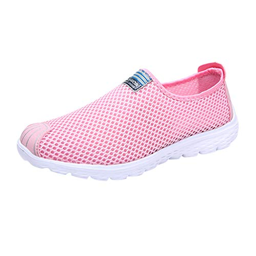 iHENGH Scarpa da Ginnastica Donne Scarpe Pantofola Pu Running Sport per Donna 2019 Scarpe Moda Casual Shoes Women Outdoor Fashion Pelle Sneakers Estate San Valentino