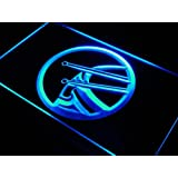 Cartel Luminoso ADV PRO j549-b Drum Game Room Music Rock Band Neon Light Sign