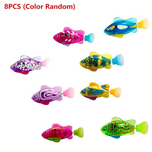 Outdoor Fun & Sports Friendly 12pcs Fish Set Magnetic Kids Fishing Toy Game Kids Rod 3d Fish Baby Educational Outdoor Fun Non-electric Multicolor Toys & Hobbies