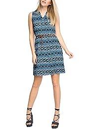 ESPRIT Collection Damen Kleid 056eo1e003-mit Gürtel