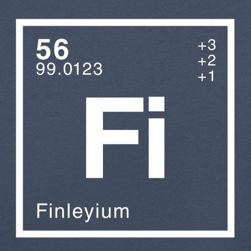 Finley Periodensystem - Herren T-Shirt - 13 Farben Navy