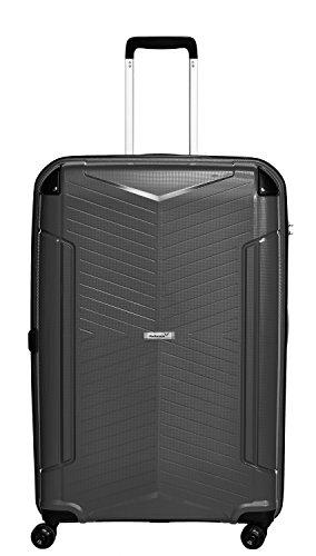 Packenger Koffer Silent Hartschale XL Koffer, 109 Liter, Schwarz