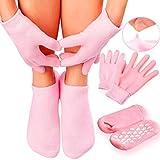 Maverick Spa Gel Socks and Gloves Set Moisturizing Silicon Gel Combo For Hands