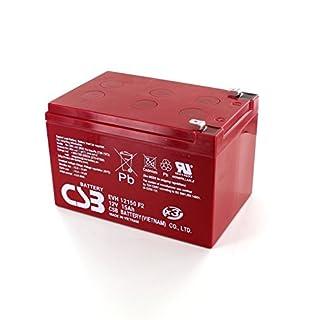 CSB Battery - Batterie Plomb 12V 15Ah CSB EVH12150 - EVH12150