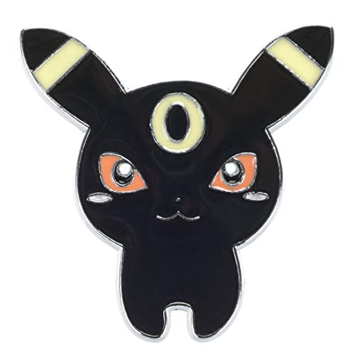cosplaystudio Pokemon Metall Anstecker von Nachtara (Ash Ketchum Kostüm Mädchen)
