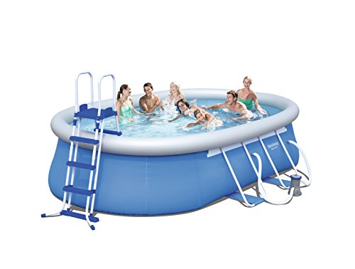Bestway Steel Pro Oval Frame Pool Set 549x366x122 cm - 2