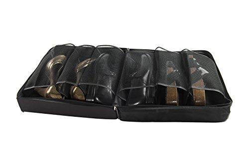 Compactor Jet Range - Organizador de Maleta para Zapatos, 3 Pares