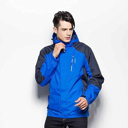 Yfoth giacca invernale da uomo freddo da sport outdoor calda giacca da sci alpinismo antivento (colore : a, dimensioni : 4xl)