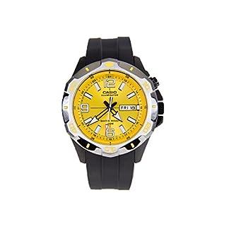 CASIO MTD-1082-9 – Reloj de pulsera, para hombre, color dorado y negro