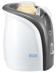 Nuk 10256317 Thermo Ultra Rapid Scaldapappa, Bianco/Grigio
